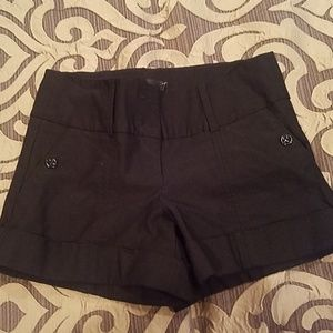 Bebe black shorts